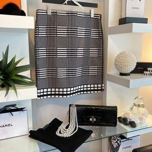 🖤 Anne Klein Black/White Skirt NWOT